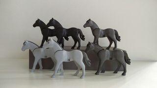caballos de 2 generación de Playmobil