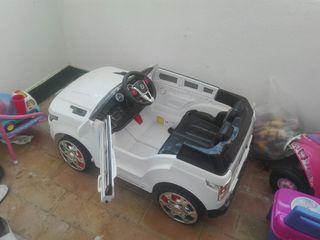 coche batería todoterreno sólo un uso