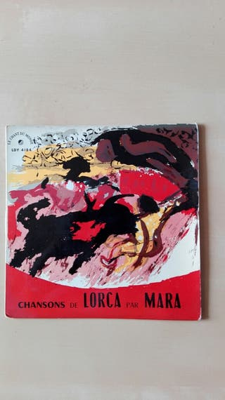 "Disco vinilo EP 7"" Chansons de Lorca"