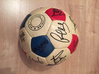 Balón FC Barcelona firmado