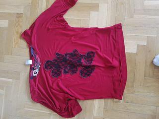 Camiseta chica desigual