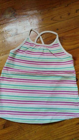 Camiseta tirantes Zara 3-4 años