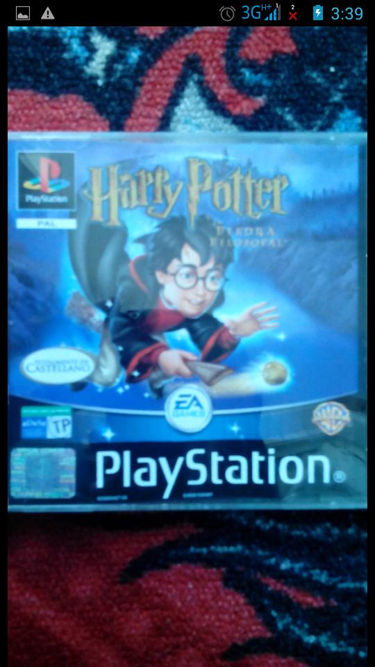 Juego Ps1 Psx Harry Potter Y La Piedra Filosofal De Segunda Mano Por