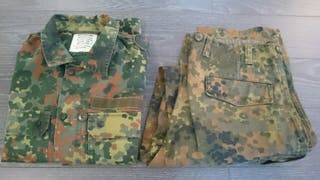 Uniforme militar Aleman Flecktarn. Airsoft-Caza