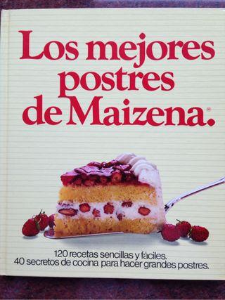 Libro recetas cocina. Postres