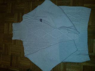 jersey lana cuello vuelto