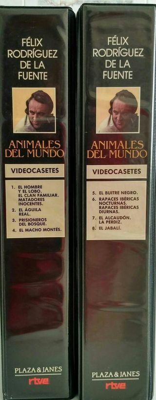 Félix Rodríguez - Videocasetes