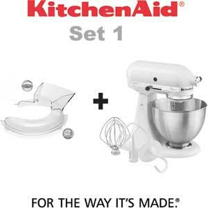 Kitchenaid Classic + Tapa antisalpicaduras