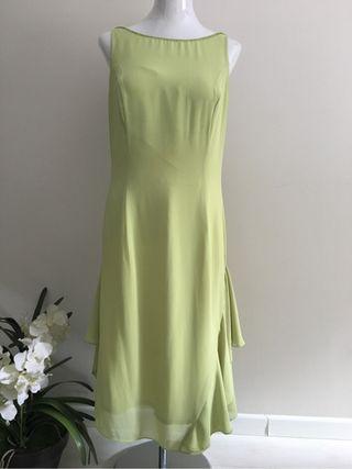 Vestidos de fiesta verde manzana