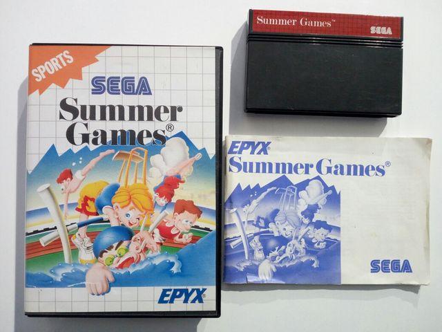 Summer Games Juego Sega Master System De Segunda Mano Por 8 5 En