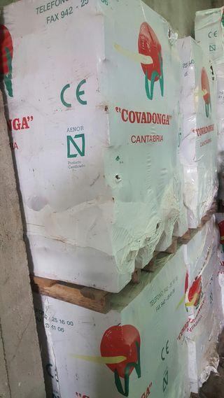 Lote de ladrillos caravista esmaltado de Covadonga