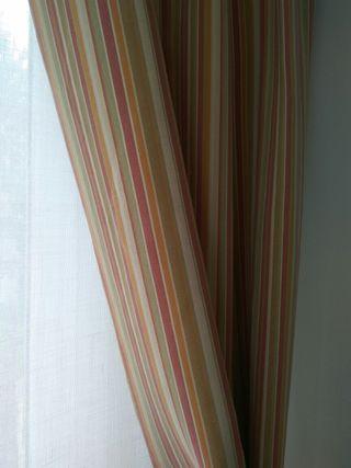 cortinas , caidas . tela de ka internacional.