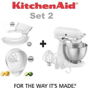 Kitchenaid Classic + Tapa + Exprimidor