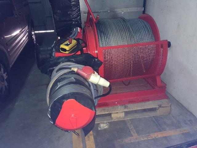 Polipasto electrico de winch 33 KN
