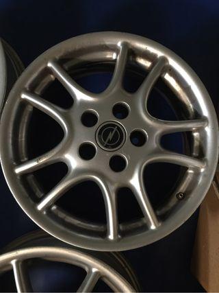 Llantas aluminio opel vectra B 2001