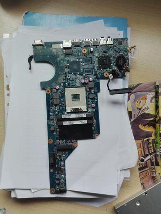 placa base con refligeracion de CPU