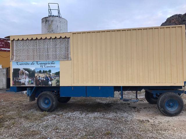 carriola del rocio carruaje , caravana 3000