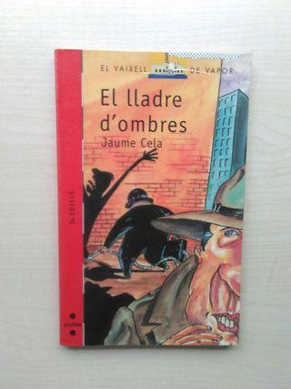 Libro el lladre d'homes. Jaume Cela.