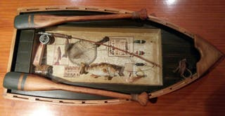 Cuadro barca pesca