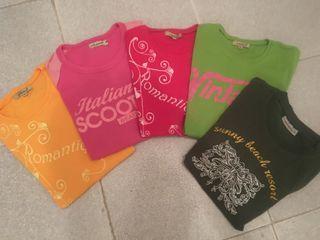 Camisetas todas 5 euros