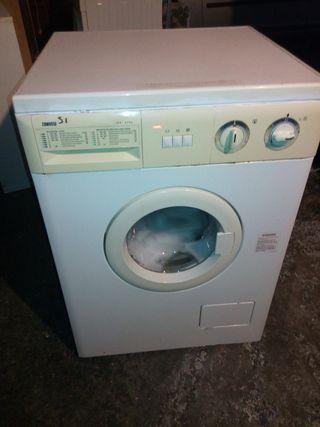 lavadora cg 6 kg funciona con tara