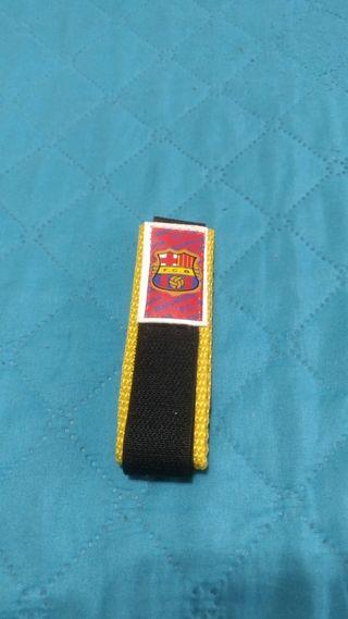 Cinta Velcro Futbol Club Barcelona FCB