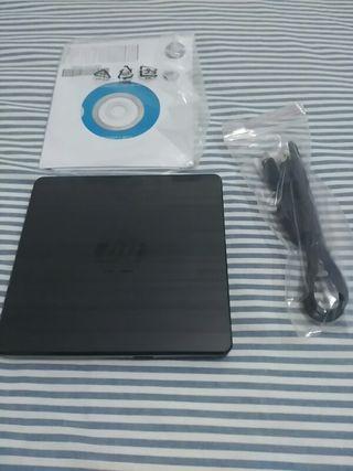 HP Grabadora dvd externa