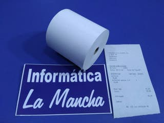 rollo papel térmico para tickets