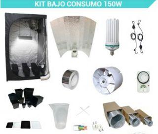 Kit completo cultivo 150W 60x60