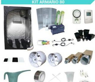 Kit completo cultivo 80x80 y 400W