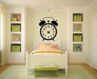 vinilo decorativo pared reloj real