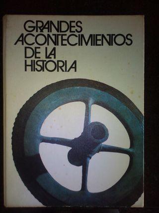 Vendo libro Grandes acontecimientos de la historia