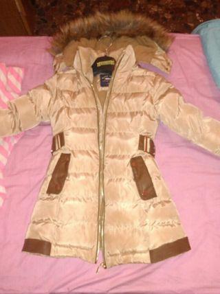 abrigo acolchado niña
