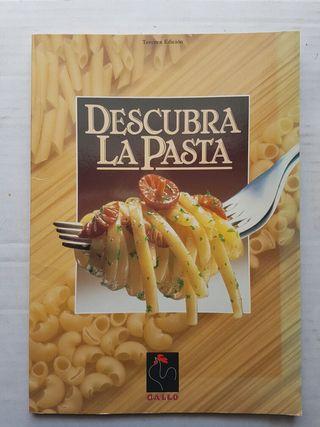 LIBRO DE RECETAS DESCUBRE LA PASTA