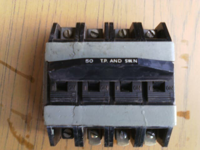 interruptor vintage