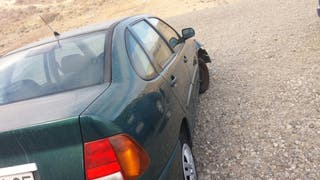 Volkswagen Polo 1999 golpe frontal solo chasis