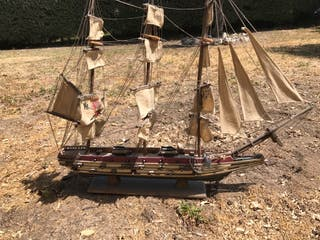 Maqueta velero grande