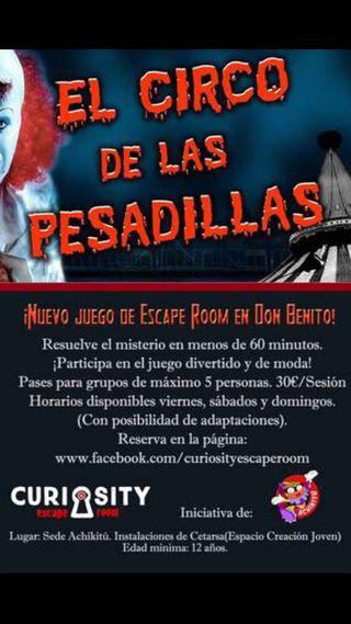 Escape Room en Don Benito!