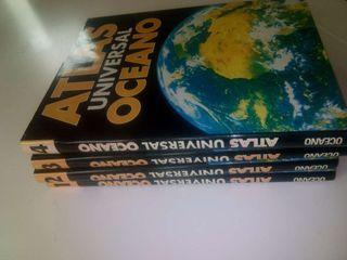 Atlas Universal.Océano.. 4 Libros.Sin usar.Otros.Ocio Deco.Niños