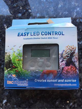 Control automatico luces led