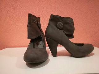 zapato abotinado mustang
