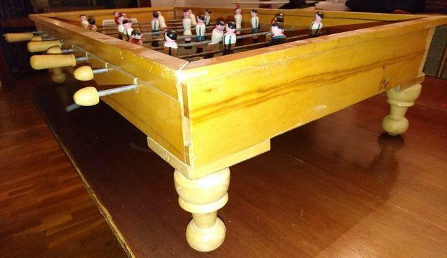 futbolin vintage de mesa