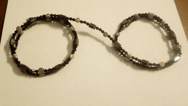 Collar magnético negro