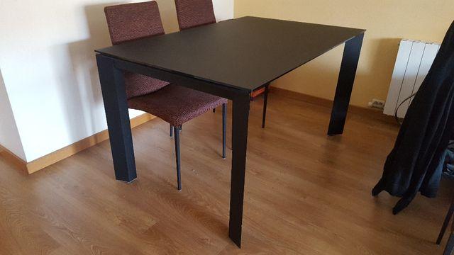 Mesa comedor extensible cristal de segunda mano por 175 € en ...
