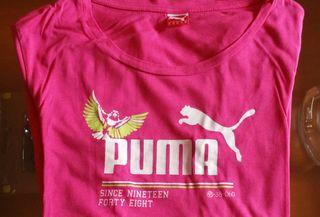 Camisetas Puma diferentes colores chica.