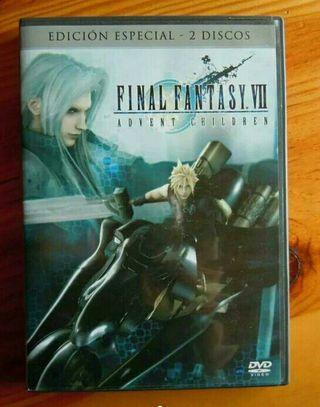 DVD Final Fantasy VII Edición especial 2 discos