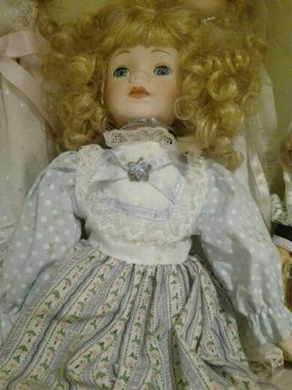 Coleccion completa muñecas de porcelana