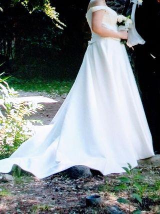 vestido talla grande de segunda mano en terrassa en wallapop
