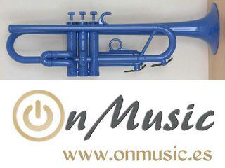 Trompeta Sib plástico inyectado. Nueva