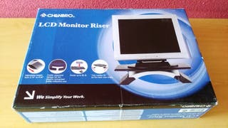 Plataforma con bandeja giratoria para monitor o TV